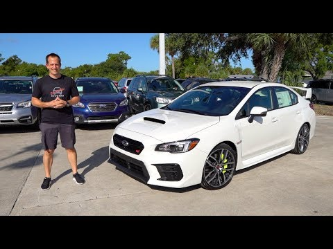 What is the MAJOR change for the 2020 Subaru WRX STI?