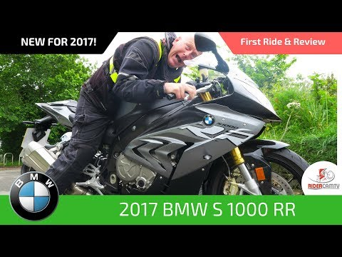 2017 BMW S1000RR - First Ride and Review!