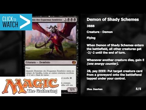 Demon of Shady Schemes - Kaladesh Spoilers