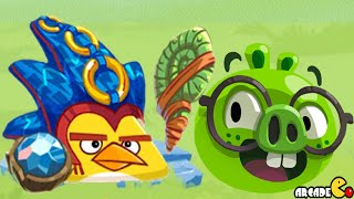 Angry Birds Epic - Chuck Epic Weapon Mana Mist Cave 16 Holy Pools 8!