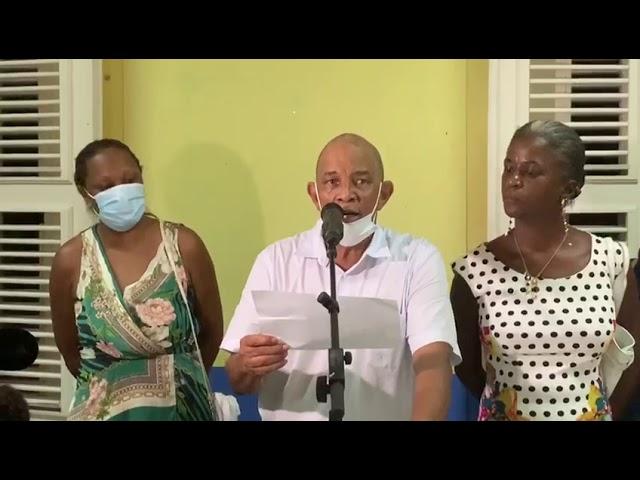 Annonce des résultats à Capesterre Belle-Eau #municipales2020 #Guadeloupe