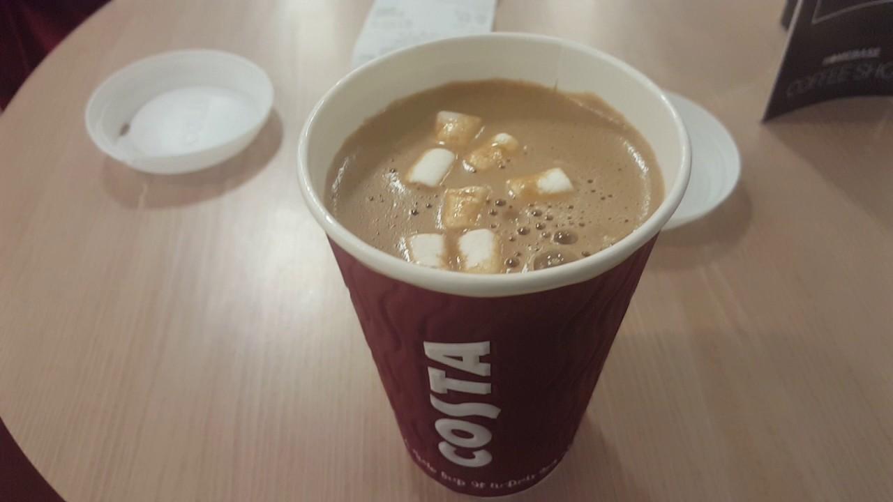 Soya Hot Chocolate Costa