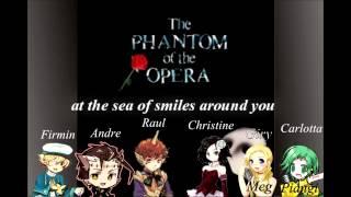 【Vocaloid】Phantom of Opera -Masquerade- 【Tonio, Sweet Ann, Oliver, Sonika, Prima, Big-Al】