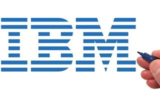 How to Draw the IBM Logo