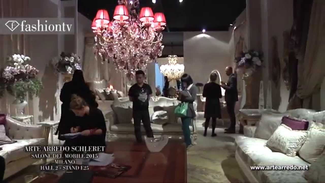 Arte arredo schleret salone del mobile milano 2015 promo for Arte arredo roma