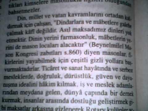 ROTARY CLUB'UN GERÇEK YÜZÜ !!!!!!!!!