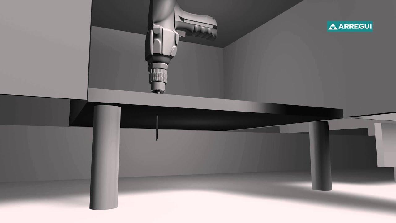 Installazione di cassaforte invisibile BOX IN Arregui