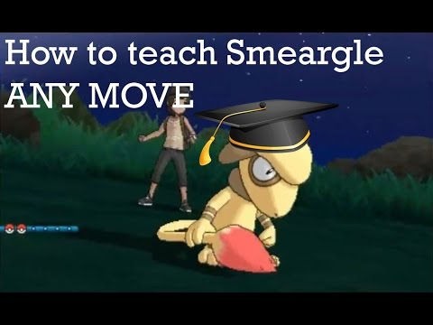 How to teach your Smeargle ANY move no matter how powerful
