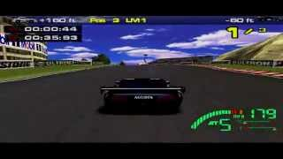 Test Drive Le Mans Arcade Gameplay (PlayStation)