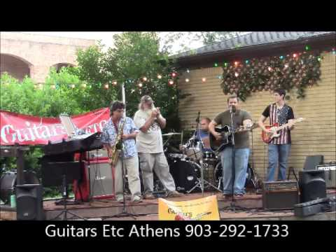 """June Jam 2014 at Guitars Etc Athens TX """"Wave on Wave"""" Cover"""