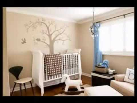 D coration chambre b b youtube - Decoration murale bebe chambre ...