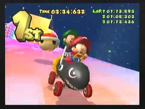 Goo Goo Buggy | Mario Kart: Double Dash!! Wiki | FANDOM ...  |Baby Mario And Baby Luigi Mario Kart Double Dash