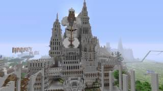 Minecraft Epic Medieval City In Progress YouTube