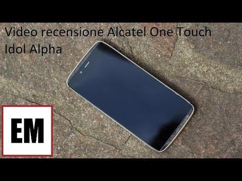 Alcatel ot Idol Alpha recensione ita da EsperienzaMobile - Review (Eng subs)