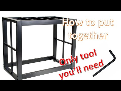 how to put together Imagitarium Brooklyn Metal stand