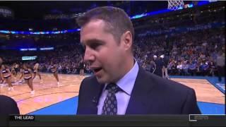 Dave Joerger ESPN In-Game Interview - 11-07-14