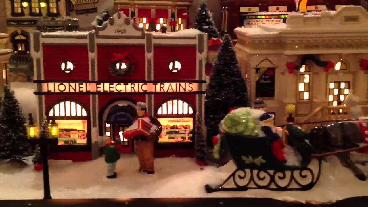 department 56 christmas village youtube. Black Bedroom Furniture Sets. Home Design Ideas