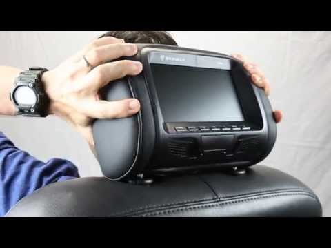 Rockville - RHP7 Headrest Monitor System - Overview