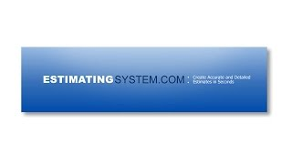 Estimating System | Create Detailed Estimates in Minutes