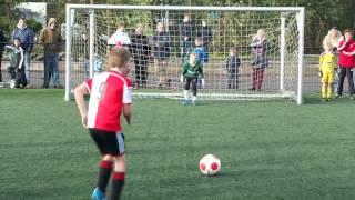 Olympia F1 vs Feyenoord F5 - de penalty's