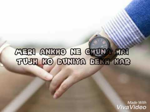 meri ankon ne chuna hai (viva video) whatsapp status