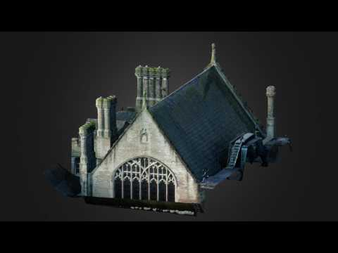 3D model of Hall roof by SUMO SERVICES