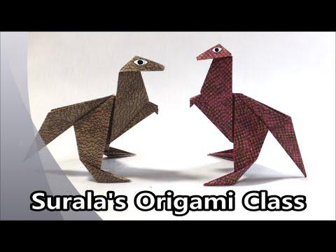 Papercraft Origami - Dinosaur (Tyrannosaurus)