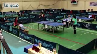 بالفيديو : ختام دورة بطولة الجمهورية لتنس الطاولة بالصالة المغطاه براس البر