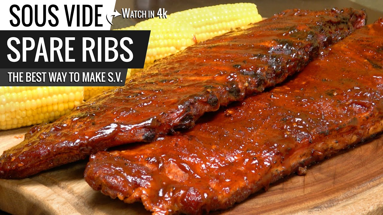 best way to cook spare ribs sous vide how to smoke st. Black Bedroom Furniture Sets. Home Design Ideas