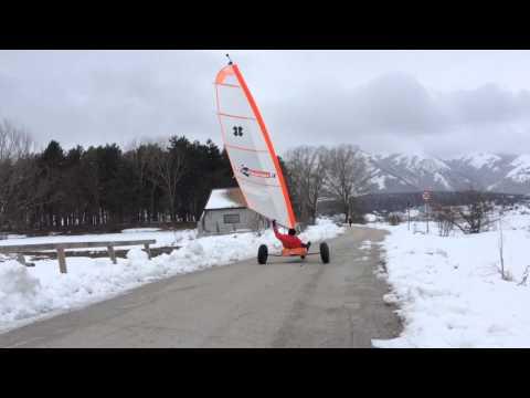 Snow Crash. Ovindoli Wind Kat Landsailing