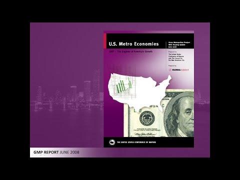 U.S. Metro Economies Report: Gross Metropolitan Product, June 2008 (PowerPoint presentation)