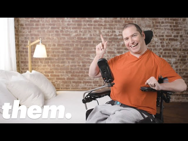 Queer Disabled Podcaster Talks About Sex and Intimacy | them.