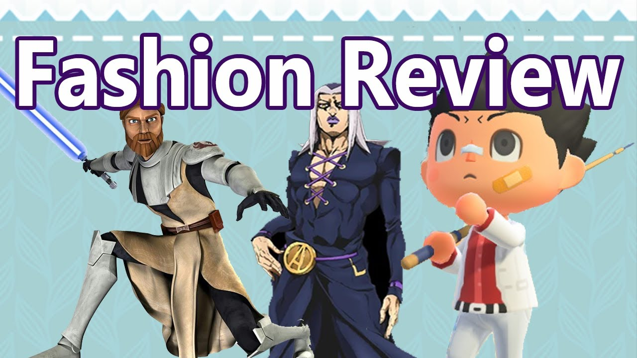 Male Fashion Review For Animal Crossing New Horizons Youtube