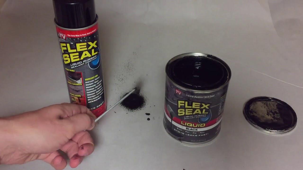 Use Flex Seal Liquid Rubber