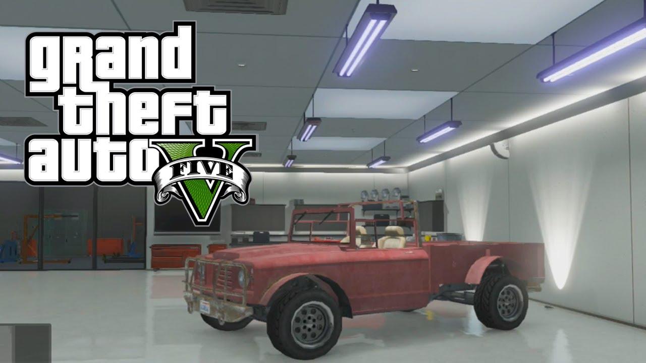 GTA 5 Online: How To Get Trevor\'s Truck (Canis Bodhi) & Michael\'s ...