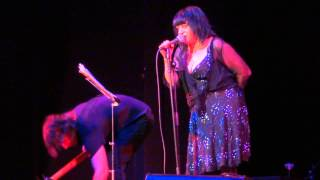 Lydia Lunch Retrovirus - Black Juju / The Gospel Singer, live @ Schauspielhaus, Dortmund 26.06.2015