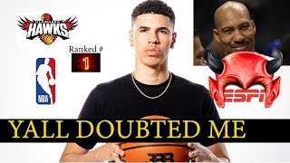 "Lamelo Finally Getting Respect. Lavar ""I told you so!"""