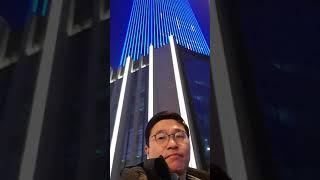 중국대련빌딩 LED 조명 2