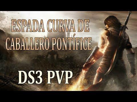 ESPADA CURVA DE CABALLERO PONTÍFICE - Dark Souls 3 PVP (Gameplay Español)