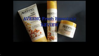 Aveeno Fresh Essentials Review Thumbnail