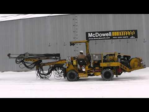 McDowell Equipment - 2006 Atlas Copco Underground Rocket Boomer 104 Drill