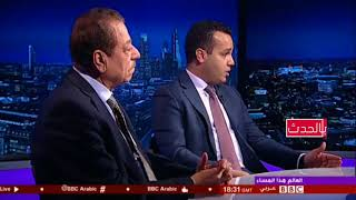 عضوان الاحمري يرد على  عبدالباري عضوان حول اكذوبة صفقة القرن لمساعدة الاردن