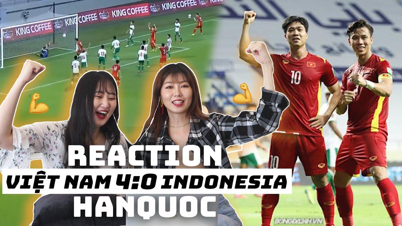 Người Hàn thán phục đội tuyển Việt Nam khi đại thắng Indonesia 4-0 ở vòng loại World Cup