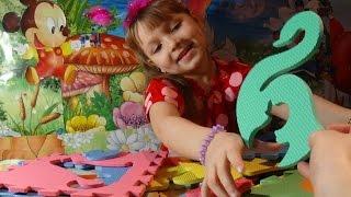 ✿ОГРОМНЫЕ✿ Пазлы для детей - Животные. Развивающее видео ✿Huge Puzzle for Kids Educational video