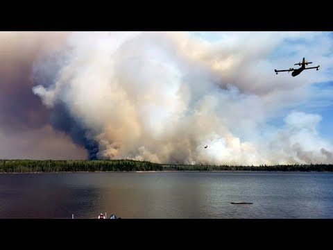Manitoba wildfire prompts evacuations