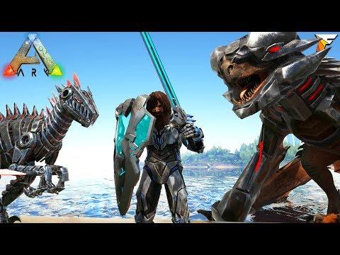 ARK NEW BIONIC SKINS IN GAME!! TEK WYVERN SADDLE and MORE!! Ark Survival Evolved Gameplay