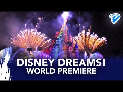 Disney Dreams! Disneyland Paris World Premiere 2012 FULL SHOW 20th Anniversary
