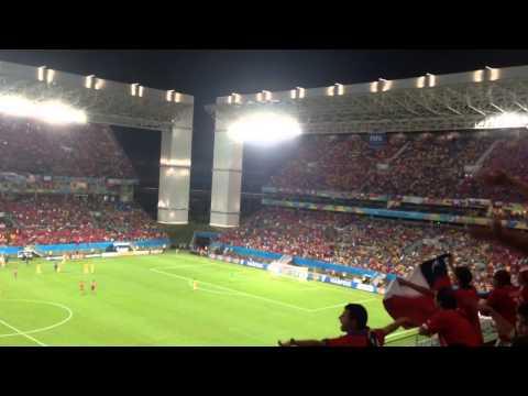 Chile vs Australia World Cup 2014 Chile Chant