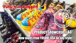 Tokyo Rebel product showcase #44 - new shoes from Yosuke USA!
