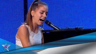 ¡AMOR de HERMANA! Pianista toca a su hermana una CANCIÓN | Audiciones 6 | Got Talent España 5 (2019)